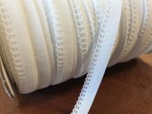 Pikós gumi, szín: fehér, szélesség: 10mm, 1 tekercs: 100m