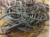 Elastic cord, color: black-red, diameter: 2.5mm, 1 roll: 100m