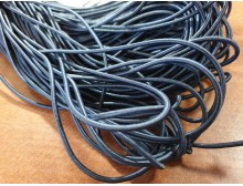 Elastic cord, color: darkblue, diameter: 2.5mm, 1 roll: 100m