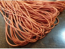 Elastic cord, color: orange, diameter: 2.5mm, 1 roll: 100m