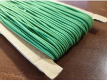 Elastic cord, color: green, diameter: 2.5mm, 1 roll: 50m