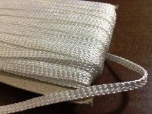 Bocskai cord, color: white, width: 6mm, 1 roll: 50m, unitprice: 46,0 Ft/meter*