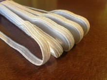 Elastic ribbon (narrow), color: white, width: 8mm, 1 roll: 10m, unitprice: 21,0 Ft/meter*