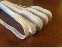 Gumipertli, szín: fehér, szélesség: 8mm, 1 tekercs: 10m, egységár: 21,0 Ft/méter*