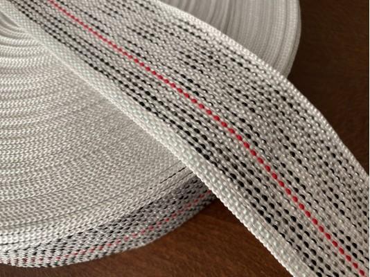 Upholsterer strap (colorful), color: colorful, width: 50mm, 1 roll: 50m, unitprice: 49,0 Ft/meter*