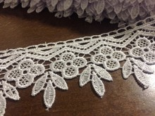 Lace, color: white, width: 50mm, 1 roll: 9y, unitprice: 179,0 Ft/yard*