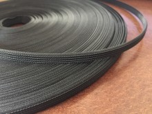 Polyester boning (hardyflex), color: black, width: 8mm, 1 roll: 40m, unitprice: 59,0 Ft/meter*
