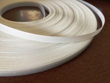 Polyester boning (wedflex), color: white, width: 8mm, 1 roll: 46m, unitprice: 59,0 Ft/meter*