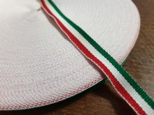 National ribbon, color: hungarian nation, width: 10mm, 1 roll: 50m, unitprice: 16,0 Ft/meter*