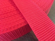 PP strap, color: red, width: 30mm, 1 roll: 50m, unitprice: 49,0 Ft/meter*