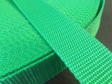 PP strap, color: grass green, width: 30mm, 1 roll: 50m, unitprice: 49,0 Ft/meter*