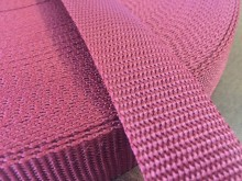 PP strap, color: claret, width: 30mm, 1 roll: 50m, unitprice: 49,0 Ft/meter*