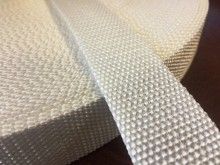 PP strap, color: white, width: 30mm, 1 roll: 50m, unitprice: 49,0 Ft/meter*