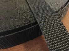 PP strap, color: black, width: 30mm, 1 roll: 50m, unitprice: 49,0 Ft/meter*