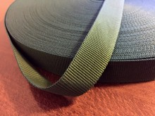Rips ribbon, color: darkgreen, width: 22mm, 1 roll: 50m, unitprice: 36,0 Ft/meter*