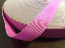 Ripsz szalag, szín: rózsaszín, szélesség: 22mm, 1 tekercs: 50m, Egységár: 36,0 Ft/méter*
