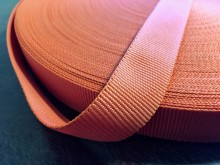 Rips ribbon, color: orange, width: 22mm, 1 roll: 50m, unitprice: 36,0 Ft/meter*