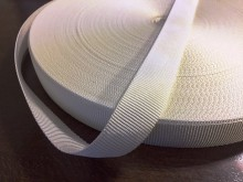 Rips ribbon, color: white, width: 22mm, 1 roll: 50m, unitprice: 36,0 Ft/meter*