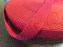 Ripsz szalag, szín: piros, szélesség: 22mm, 1 tekercs: 50m, egységár: 36,0 Ft/méter*