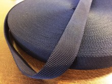 Rips ribbon, color: darkblue, width: 22mm, 1 roll: 50m, unitprice: 36,0 Ft/meter*