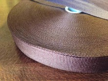 Rips ribbon, color: darkbrown, width: 20mm, 1 roll: 50m, unitprice: 33,0 Ft/meter*