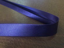 Satin bias binding, color: dark purple, width: 20mm, 1 roll: 25m, unitprice: 51,0 Ft/meter*