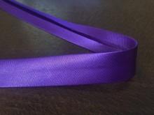 Szatén ferdepánt, szín: lila, szélesség: 20mm, 1 tekercs: 25m, Egységár: 51,0 Ft/méter*