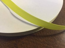Satin ribbon, color: lemon yellow, width: 10mm, 1 roll: 100m, unitprice: 17,0 Ft/meter*