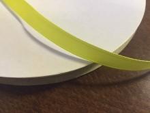 Szatén szalag, szín: citromsárga, szélesség: 10mm, 1 tekercs: 100m, Egységár: 17,0 Ft/méter*