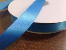 Szatén szalag, szín: türkizkék, szélesség: 15mm, 1 tekercs: 50m, Egységár: 28,0 Ft/méter*