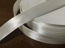 Satin ribbon, color: white, width: 20mm, 1 roll: 50m, unitprice: 34,0 Ft/meter*