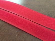 Tépőzár, szín: piros, szélesség: 20mm, 1 tekercs: 25m, egységár: 72,0 Ft/méter*