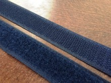 Hook and Loop fastener, color: darkblue, width: 20mm, 1 roll: 25m, unitprice: 72,0 Ft/meter*