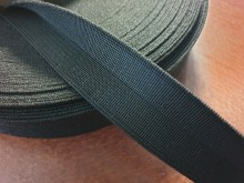 Y-elastic ribbon (strengthened), color: black, width: 30mm, 1 roll: 25m, unitprice: 59,0 Ft/meter*